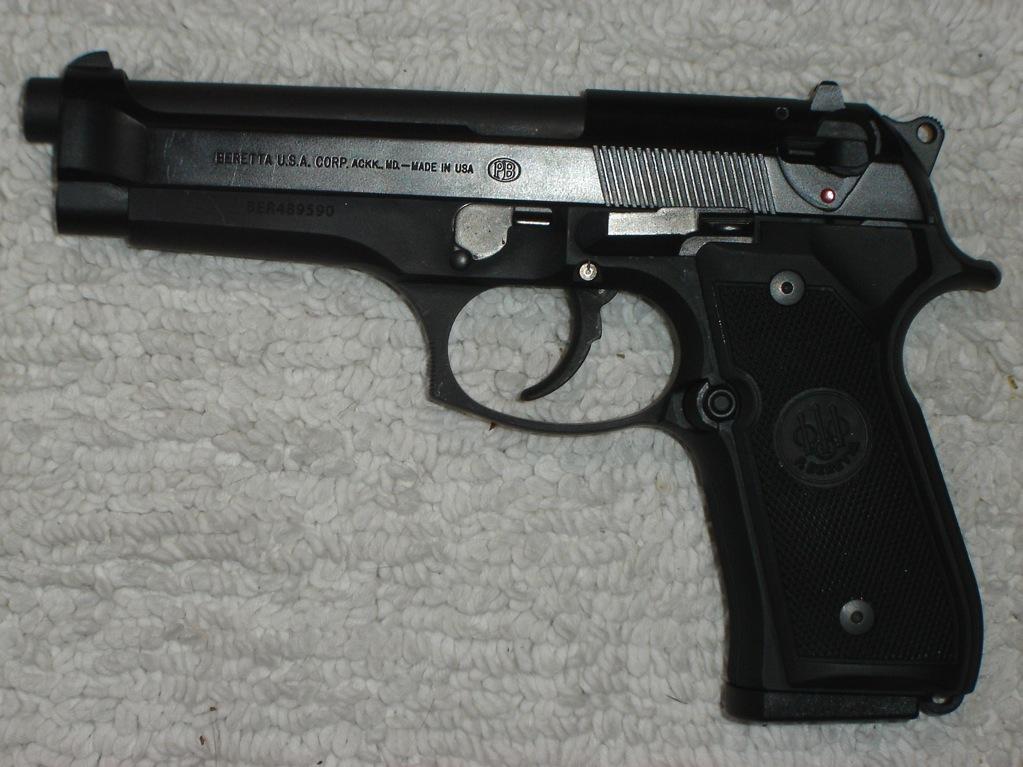 Beretta semi auto pistol cheetah pictures